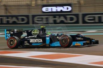 World © Octane Photographic Ltd. 2014 Formula 1 Abu Dhabi Grand Prix, GP2 Qualifying, Friday 21st November 2014. Conor Daly - Venezuela GP Lazarus. Digital Ref : 1162CB1D7446