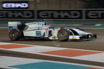 World © Octane Photographic Ltd. 2014 Formula 1 Abu Dhabi Grand Prix, GP2 Qualifying, Friday 21st November 2014. Marco Sorensen - MP Motorsport. Digital Ref : 1162CB1D7495