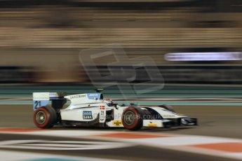 World © Octane Photographic Ltd. 2014 Formula 1 Abu Dhabi Grand Prix, GP2 Qualifying, Friday 21st November 2014. Marco Sorensen - MP Motorsport. Digital Ref : 1162CB1D7570