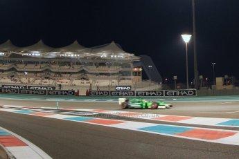 World © Octane Photographic Ltd. 2014 Formula 1 Abu Dhabi Grand Prix, GP2 Qualifying, Friday 21st November 2014. Rio Haryanto – Caterham Racing. Digital Ref : 1162CB7D8220