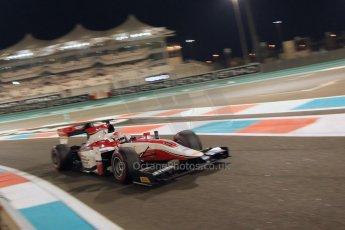 World © Octane Photographic Ltd. 2014 Formula 1 Abu Dhabi Grand Prix, GP2 Qualifying, Friday 21st November 2014. Takuya Izawa - ART Grand Prix. Digital Ref : 1162CB7D8242