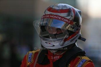 World © Octane Photographic Ltd. Sunday 23rd November 2014. GP2 Race 2 Parc Ferme – Abu Dhabi GP - Yas Marina Circuit, United Arab Emirates. Stefano Coletti - Racing Engineering. Digital Ref :1170LB1D7081