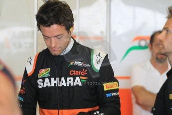 World © Octane Photographic Ltd. Tuesday 25th November 2014. Abu Dhabi Testing - Yas Marina Circuit. Sahara Force India VJM07 – Jolyon Palmer. Digital Ref : 1174CB1D7921