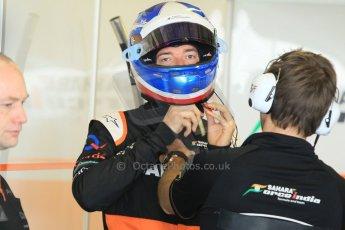 World © Octane Photographic Ltd. Tuesday 25th November 2014. Abu Dhabi Testing - Yas Marina Circuit. Sahara Force India VJM07 – Jolyon Palmer. Digital Ref : 1174CB1D7946