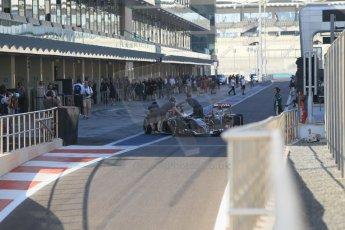 World © Octane Photographic Ltd. Tuesday 25th November 2014. Abu Dhabi Testing - Yas Marina Circuit. Sauber C33 – Marcus Ericsson. Digital Ref: 1174CB1D8012