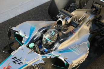 World © Octane Photographic Ltd. Tuesday 25th November 2014. Abu Dhabi Testing - Yas Marina Circuit. Mercedes AMG Petronas F1 W05 Hybrid – Nico Rosberg. Digital Ref: 1174CB1D8070