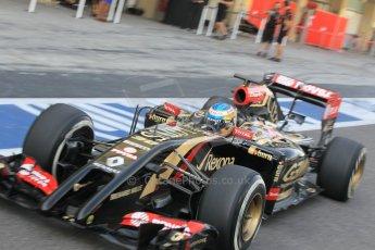 World © Octane Photographic Ltd. Tuesday 25th November 2014. Abu Dhabi Testing - Yas Marina Circuit. Lotus F1 Team E22 – Charles Pic. Digital Ref: 1174CB1D8226