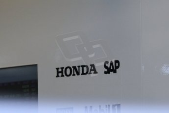 World © Octane Photographic Ltd. Tuesday 25th November 2014. Abu Dhabi Testing - Yas Marina Circuit. McLaren Honda MP4-29H/1X1. Digital Ref: 1174CB1D8367