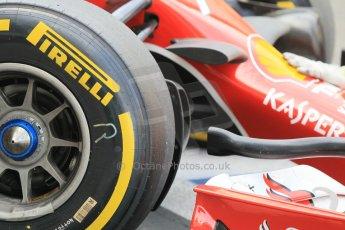 World © Octane Photographic Ltd. Tuesday 25th November 2014. Abu Dhabi Testing - Yas Marina Circuit. Scuderia Ferrari F14T - Kimi Raikkonen. Digital Ref: 1174CB1D8387
