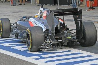 World © Octane Photographic Ltd. Tuesday 25th November 2014. Abu Dhabi Testing - Yas Marina Circuit. Sauber C33 – Marcus Ericsson. Digital Ref: