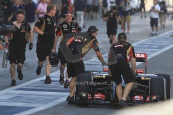 World © Octane Photographic Ltd. Tuesday 25th November 2014. Abu Dhabi Testing - Yas Marina Circuit. Lotus F1 Team E22 – Charles Pic. Digital Ref: 1174CB7D8537