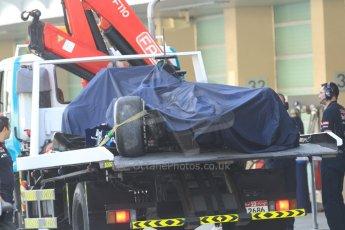 World © Octane Photographic Ltd. Tuesday 25th November 2014. Abu Dhabi Testing - Yas Marina Circuit. Scuderia Toro Rosso STR9 – Max Verstappen. Digital Ref: 1174CB7D8567