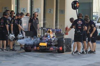 World © Octane Photographic Ltd. Tuesday 25th November 2014. Abu Dhabi Testing - Yas Marina Circuit. Infiniti Red Bull Racing RB10 – Carlos Sainz jr. Digital Ref: 1174CB7D8592