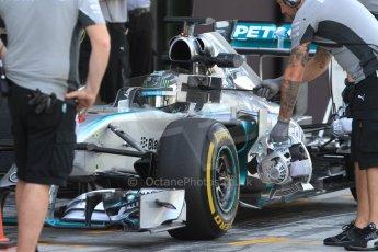 World © Octane Photographic Ltd. Tuesday 25th November 2014. Abu Dhabi Testing - Yas Marina Circuit. Mercedes AMG Petronas F1 W05 Hybrid – Nico Rosberg. Digital Ref: 1174CB7D8678