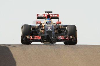 World © Octane Photographic Ltd. Tuesday 25th November 2014. Abu Dhabi Testing - Yas Marina Circuit. Lotus F1 Team E22 – Charles Pic. Digital Ref: 1174CB7D8712