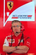 World © Octane Photographic Ltd. Tuesday 25th November 2014. Abu Dhabi Testing - Yas Marina Circuit. Scuderia Ferrari - Pat Fry. Digital Ref: 1174CB7D8745