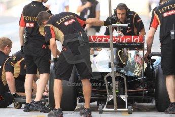 World © Octane Photographic Ltd. Tuesday 25th November 2014. Abu Dhabi Testing - Yas Marina Circuit. Lotus F1 Team E22 – Charles Pic. Digital Ref: 1174CB7D8761