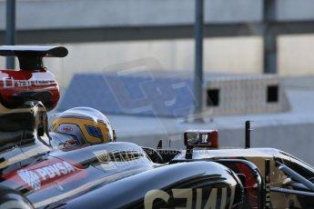 World © Octane Photographic Ltd. Tuesday 25th November 2014. Abu Dhabi Testing - Yas Marina Circuit. Lotus F1 Team E22 – Charles Pic. Digital Ref: 1174LB1D7829