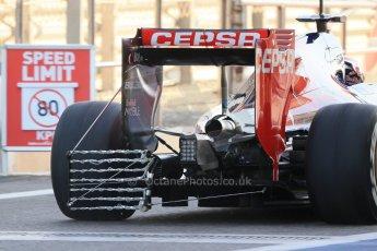 World © Octane Photographic Ltd. Tuesday 25th November 2014. Abu Dhabi Testing - Yas Marina Circuit. Scuderia Toro Rosso STR9 – Max Verstappen. Digital Ref: 1174LB1D7877