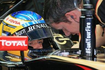 World © Octane Photographic Ltd. Tuesday 25th November 2014. Abu Dhabi Testing - Yas Marina Circuit. Lotus F1 Team E22 – Charles Pic. Digital Ref: 1174LB1D8020