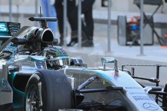World © Octane Photographic Ltd. Tuesday 25th November 2014. Abu Dhabi Testing - Yas Marina Circuit. Mercedes AMG Petronas F1 W05 Hybrid – Nico Rosberg. Digital Ref: 1174LB1D8077