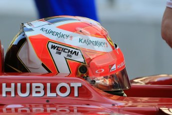 World © Octane Photographic Ltd. Tuesday 25th November 2014. Abu Dhabi Testing - Yas Marina Circuit. Scuderia Ferrari F14T - Kimi Raikkonen. Digital Ref: 1174LB1D8104