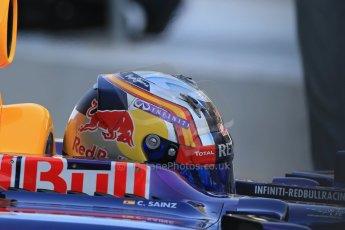 World © Octane Photographic Ltd. Tuesday 25th November 2014. Abu Dhabi Testing - Yas Marina Circuit. Infiniti Red Bull Racing RB10 – Carlos Sainz jr. Digital Ref: 1174LB1D8157