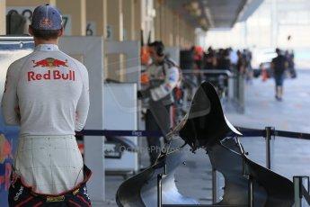 World © Octane Photographic Ltd. Tuesday 25th November 2014. Abu Dhabi Testing - Yas Marina Circuit. Scuderia Toro Rosso STR9 – Max Verstappen. Digital Ref: 1174LB1D8218