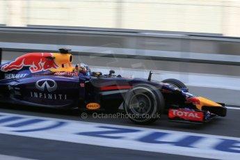 World © Octane Photographic Ltd. Tuesday 25th November 2014. Abu Dhabi Testing - Yas Marina Circuit. Infiniti Red Bull Racing RB10 – Carlos Sainz jr. Digital Ref: 1174LB1D8233