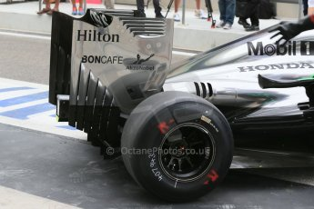 World © Octane Photographic Ltd. Tuesday 25th November 2014. Abu Dhabi Testing - Yas Marina Circuit. McLaren Honda MP4-29H/1X1 - Stoffel Vandoorne. Digital Ref: 1174LB1D8336