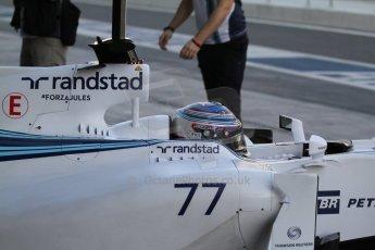 World © Octane Photographic Ltd. Tuesday 25th November 2014. Abu Dhabi Testing - Yas Marina Circuit. Williams Racing FW36 – Valtteri Bottas. Digital Ref: 1174LB7L9548