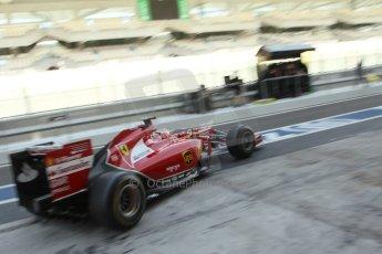 World © Octane Photographic Ltd. Tuesday 25th November 2014. Abu Dhabi Testing - Yas Marina Circuit. Scuderia Ferrari F14T - Kimi Raikkonen. Digital Ref: 1174LB7L9601