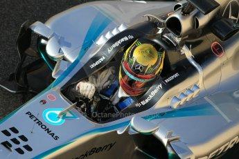 World © Octane Photographic Ltd. Wednesday 26th November 2014. Abu Dhabi Testing - Yas Marina Circuit. Mercedes AMG Petronas F1 W05 Hybrid - Pascal Wehrlein. Digital Ref: 1175CB1D8829