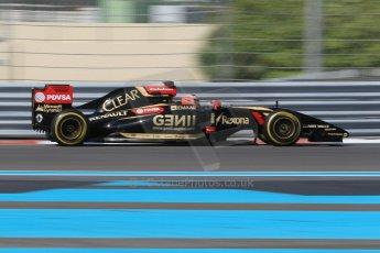 World © Octane Photographic Ltd. Wednesday 26th November 2014. Abu Dhabi Testing - Yas Marina Circuit. Lotus F1 Team E22 – Esteban Ocon. Digital Ref: 1175CB1D9134