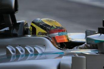World © Octane Photographic Ltd. Wednesday 26th November 2014. Abu Dhabi Testing - Yas Marina Circuit. Mercedes AMG Petronas F1 W05 Hybrid - Pascal Wehrlein. Digital Ref: 1175CB1D9208
