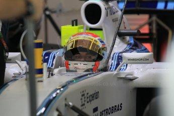 World © Octane Photographic Ltd. Wednesday 26th November 2014. Abu Dhabi Testing - Yas Marina Circuit. Williams Racing FW36 – Felipe Nasr. Digital Ref: 1175CB1D9351