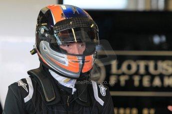 World © Octane Photographic Ltd. Wednesday 26th November 2014. Abu Dhabi Testing - Yas Marina Circuit. Lotus F1 Team E22 – Alex Lynn. Digital Ref: 1175CB1D9386