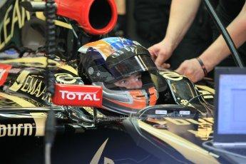 World © Octane Photographic Ltd. Wednesday 26th November 2014. Abu Dhabi Testing - Yas Marina Circuit. Lotus F1 Team E22 – Alex Lynn. Digital Ref: 1175CB1D9427