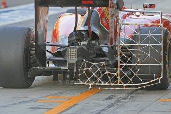 World © Octane Photographic Ltd. Wednesday 26th November 2014. Abu Dhabi Testing - Yas Marina Circuit. Scuderia Ferrari F14T diffusor and aero test rig. Digital Ref: 1175CB1D9561