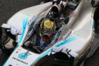 World © Octane Photographic Ltd. Wednesday 26th November 2014. Abu Dhabi Testing - Yas Marina Circuit. Mercedes AMG Petronas F1 W05 Hybrid - Pascal Wehrlein. Digital Ref: 1175CB1D9620