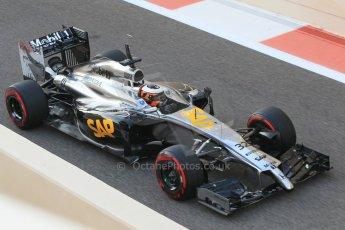 World © Octane Photographic Ltd. Wednesday 26th November 2014. Abu Dhabi Testing - Yas Marina Circuit. McLaren Honda MP4-29/1X1 – Stoffel Vandoorne. Digital Ref: 1175CB1D9658