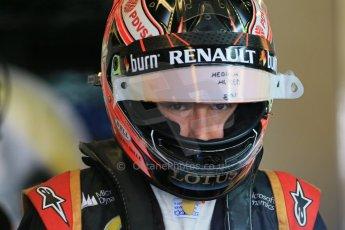 World © Octane Photographic Ltd. Wednesday 26th November 2014. Abu Dhabi Testing - Yas Marina Circuit. Lotus F1 Team E22 – Esteban Ocon. Digital Ref: 1175LB1D8350
