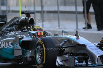 World © Octane Photographic Ltd. Wednesday 26th November 2014. Abu Dhabi Testing - Yas Marina Circuit. Mercedes AMG Petronas F1 W05 Hybrid - Pascal Wehrlein. Digital Ref: 1175LB1D8402