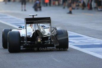 World © Octane Photographic Ltd. Wednesday 26th November 2014. Abu Dhabi Testing - Yas Marina Circuit. Sauber C33 – Marcus Ericsson. Digital Ref : 1175LB1D8726
