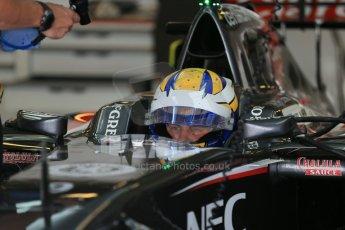 World © Octane Photographic Ltd. Wednesday 26th November 2014. Abu Dhabi Testing - Yas Marina Circuit. Sauber C33 – Marcus Ericsson. Digital Ref : 1175LB1D8836