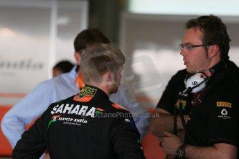 World © Octane Photographic Ltd. Wednesday 26th November 2014. Abu Dhabi Testing - Yas Marina Circuit. Sahara Force India VJM07 - Spike Goddard. Digital Ref: 1175LB1D8853