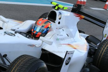 World © Octane Photographic Ltd. Thursday 27th November 2014. GP2 Testing - Yas Marina, United Arab Emirates. Jazeman Jaafar - Campos Racing. Digital Ref :