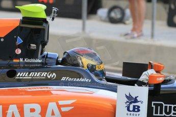 World © Octane Photographic Ltd. Thursday 27th November 2014. GP2 Testing - Yas Marina, United Arab Emirates. Marvin Kirchhofer - Hilmer Motorsport. Digital Ref: