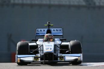 World © Octane Photographic Ltd. Thursday 27th November 2014. GP2 Testing - Yas Marina, United Arab Emirates. Marlon Stockinger - MP Motorsport. Digital Ref : 1177LB1D9879