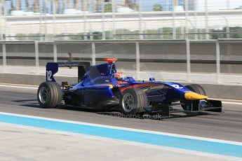 World © Octane Photographic Ltd. Thursday 27th November 2014. GP3 Testing - Yas Marina, United Arab Emirates. Ed Jones - Carlin. Digital Ref :